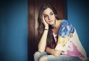 Senioritis | Depressed high school student