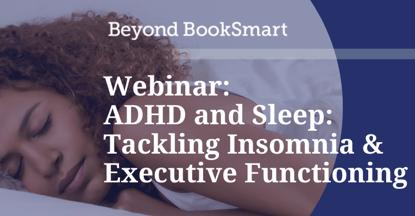 ADHD and Sleep Webinar