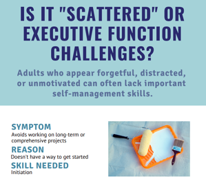 Scattered or EF Challenges?