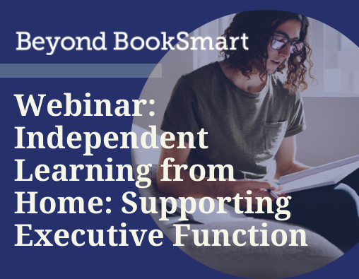 Independent Learning from Home Webinar