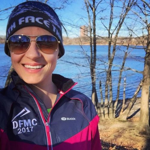 Maria Harlow uses her executive function skills to train for the Boston Marathon