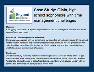 Olivia Case Study