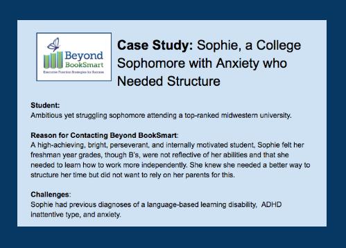 Sophie Case Study