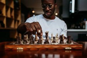 Chess helps develop EF skills