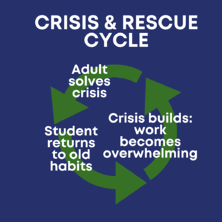 crisis and rescue cycle