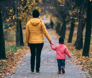 Sometimes a walk or a drive with your child can help you have a difficult discussion