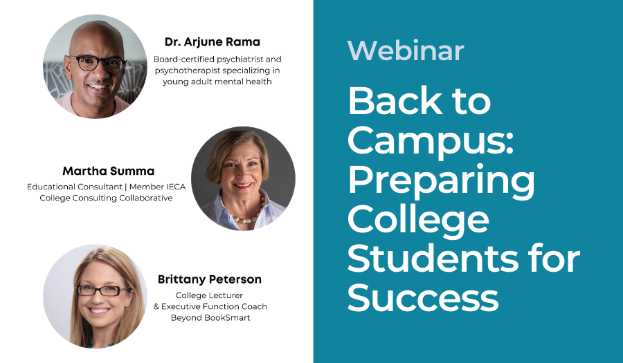 Back to Campus: Preparing College Students for Success
