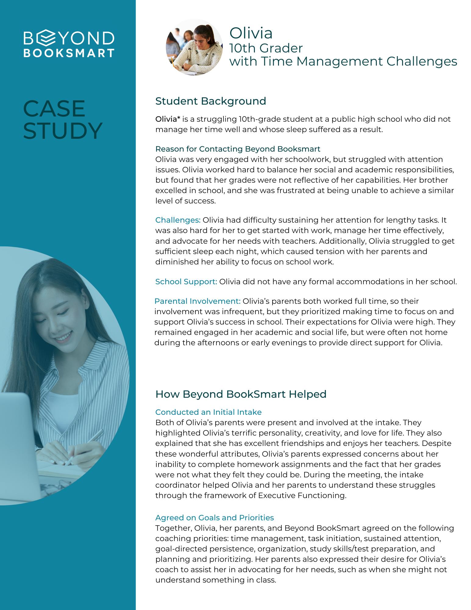 Case Study #6 Olivia