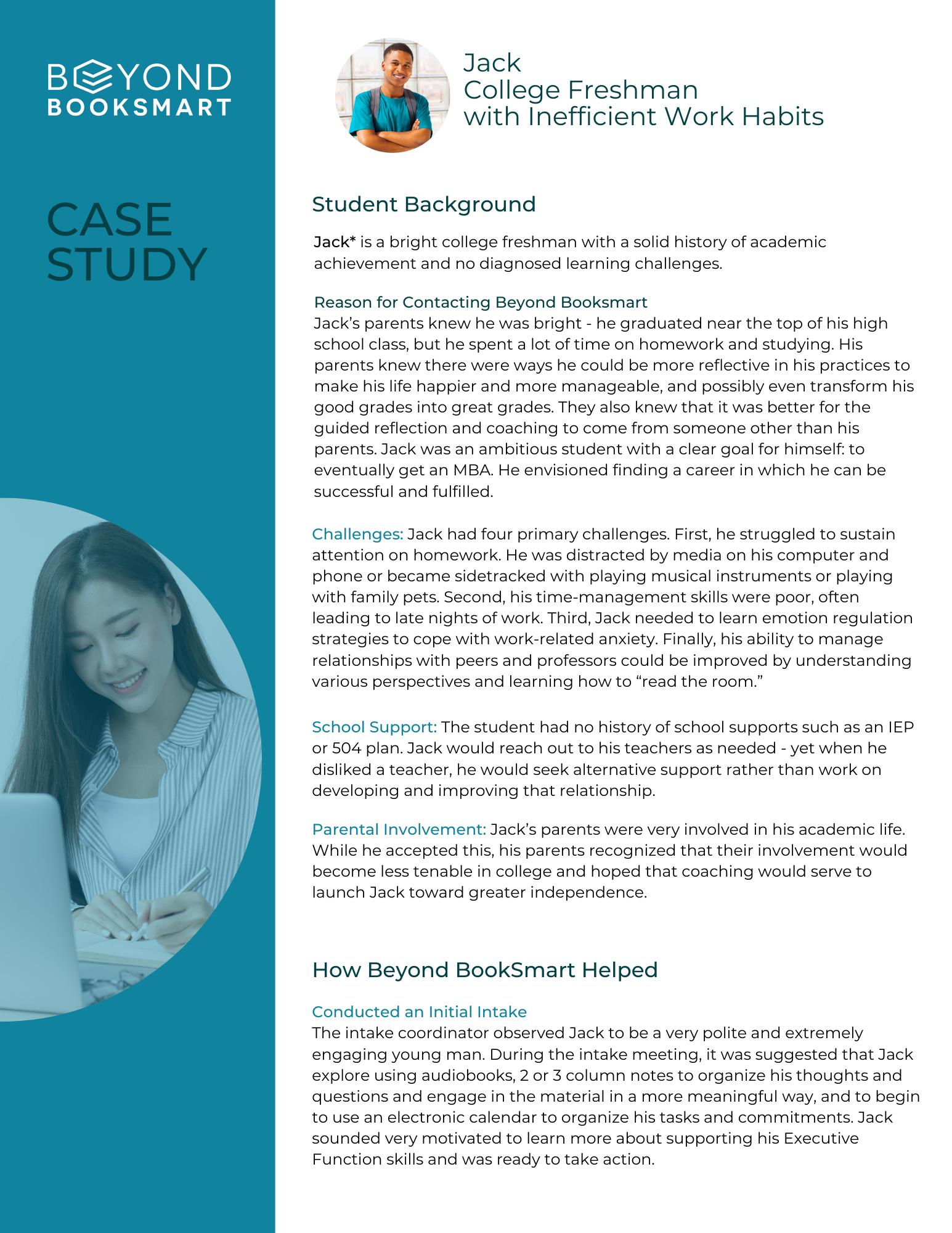 Case Study #8 Jack