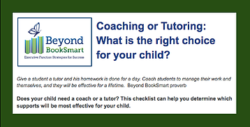 Coaching vs. Tutoring