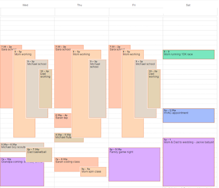 How to Manage a Busy Schedule: The Planning Power of Shared Calendars