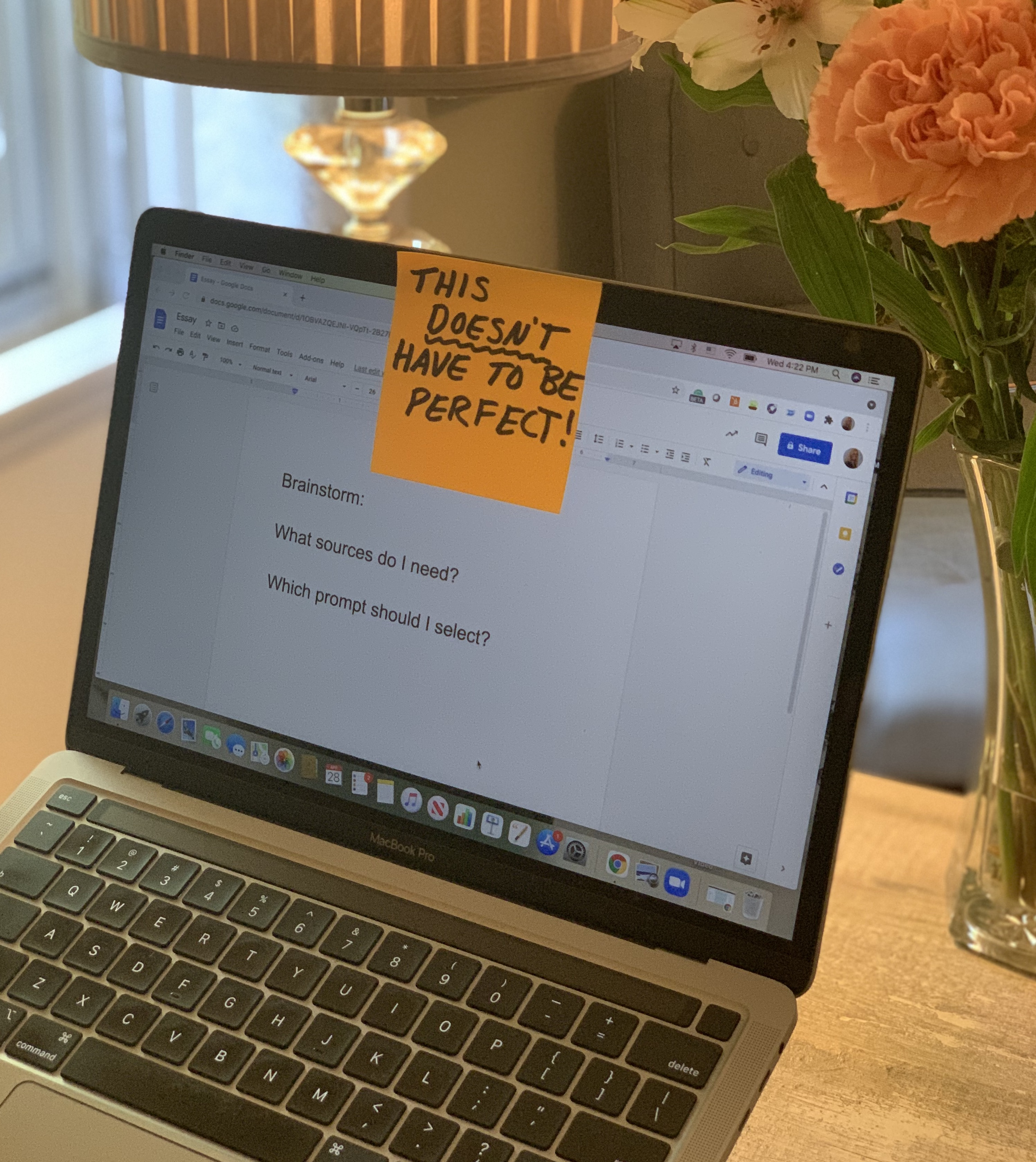When Perfectionism Paralyzes: 4 Steps to (Actually) Get Writing Done