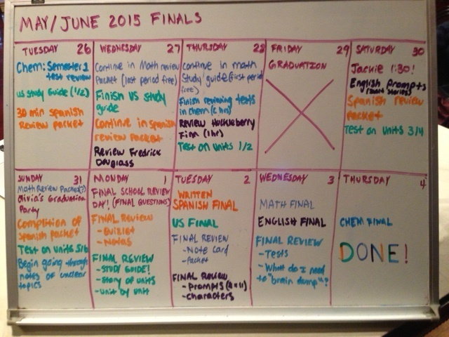Study Tips for Finals: 4 Steps to an Effective Game Plan