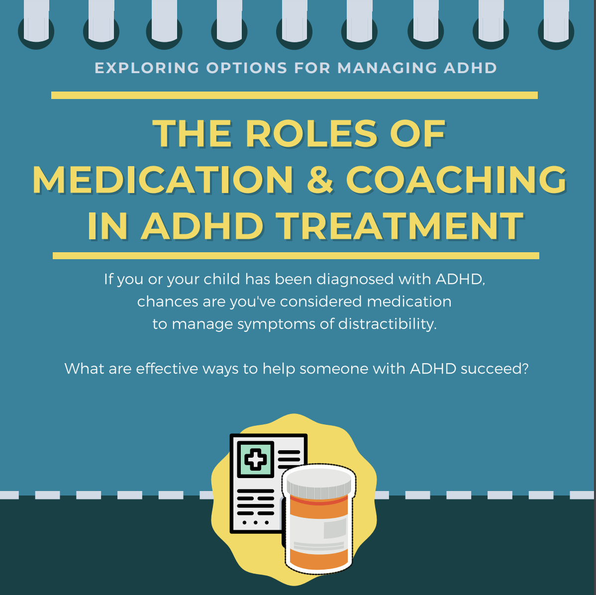 Infographic: ADHD Medications and EF Coaching