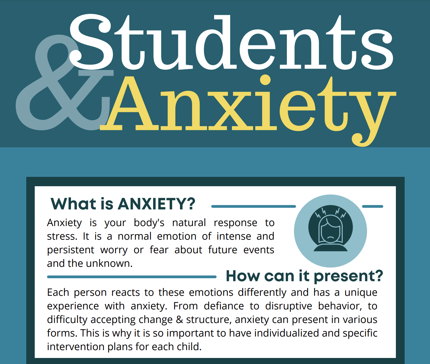 6 tips for anxiety in students