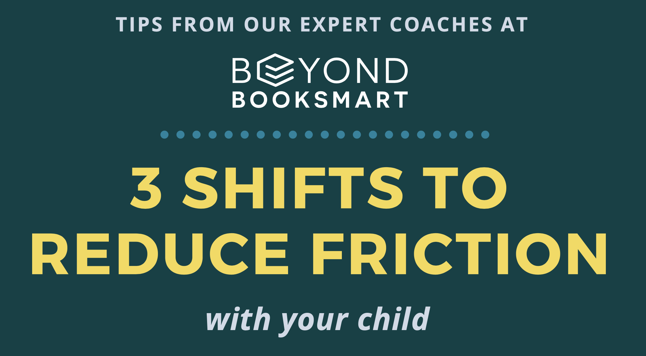 Infographic: 3 Shifts to Reduce Friction